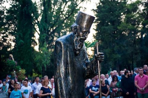 Бесједа на откривању споменика патријарху Павлу у Требињу